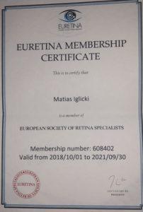 Euretina Memebership